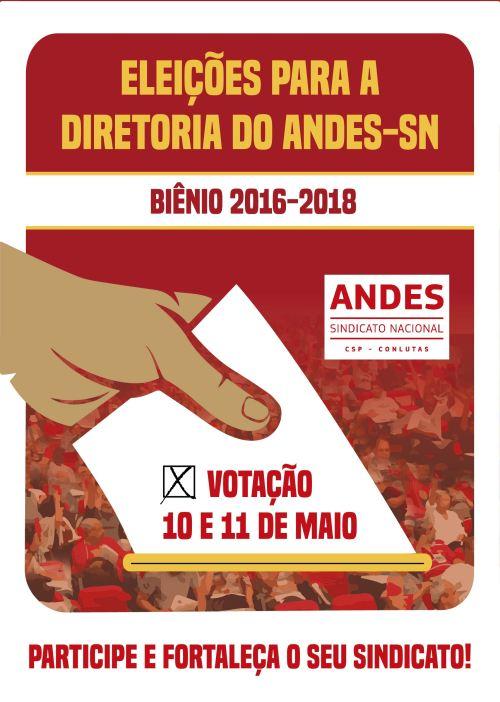 cartaz eleição