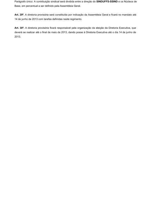 Regimento Interno SINDUFFS-7
