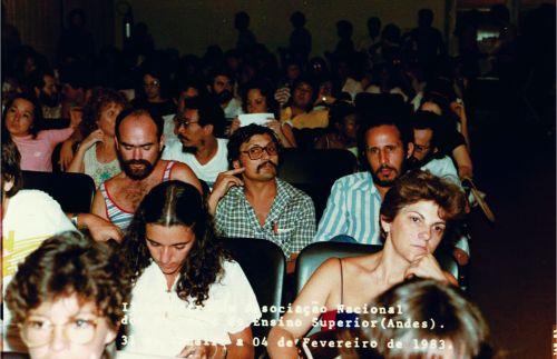 plenário do congresso do andes em janeiro de 1983_tratada