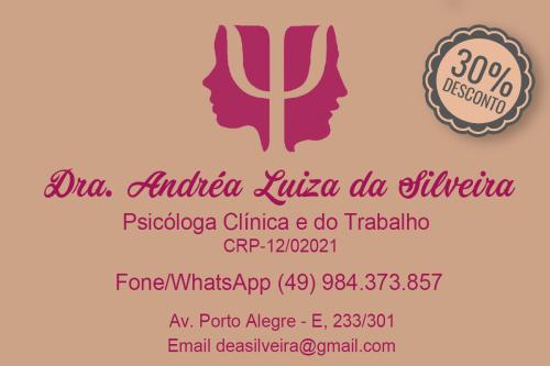 Psicóloga Andréa